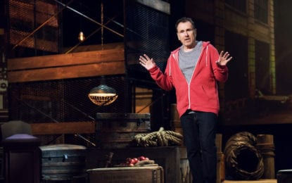 Comedian Colin Quinn takes  solo act to The Egg