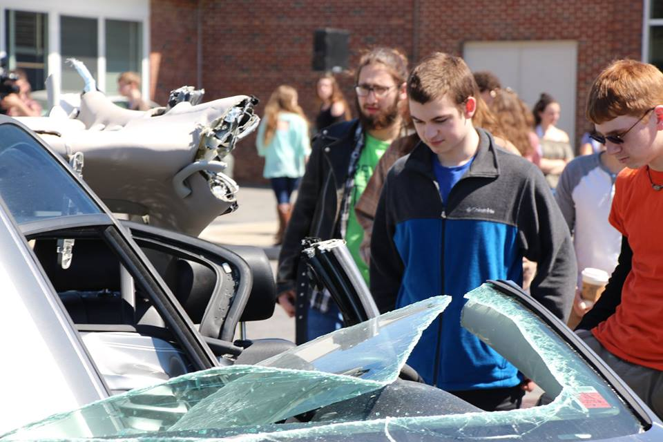 Mock Crash at BCHS 3