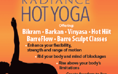 Radiance Hot Yoga is found in Glenmont, Latham