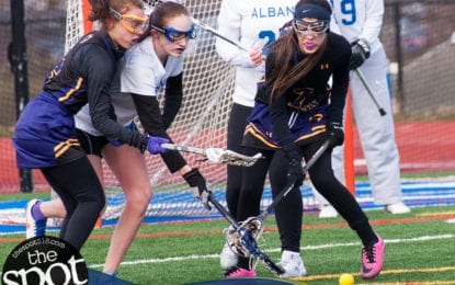 SPOTTED: Ballston Spa JV lax team takes on Albany