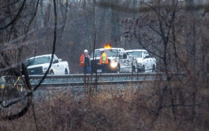Man hit and killed by a train in Colonie