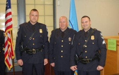 """BPD promotes officers, restores two """"vital"""" positions to force"""