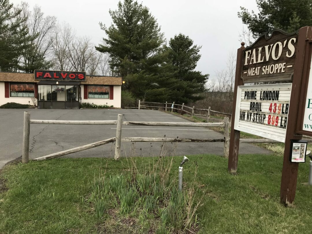 Falvo's up for sale