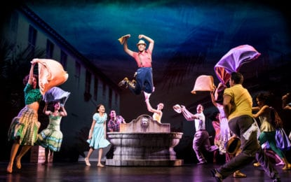 'On Your Feet!', the hit Broadway musical,  opens tonight at Proctors