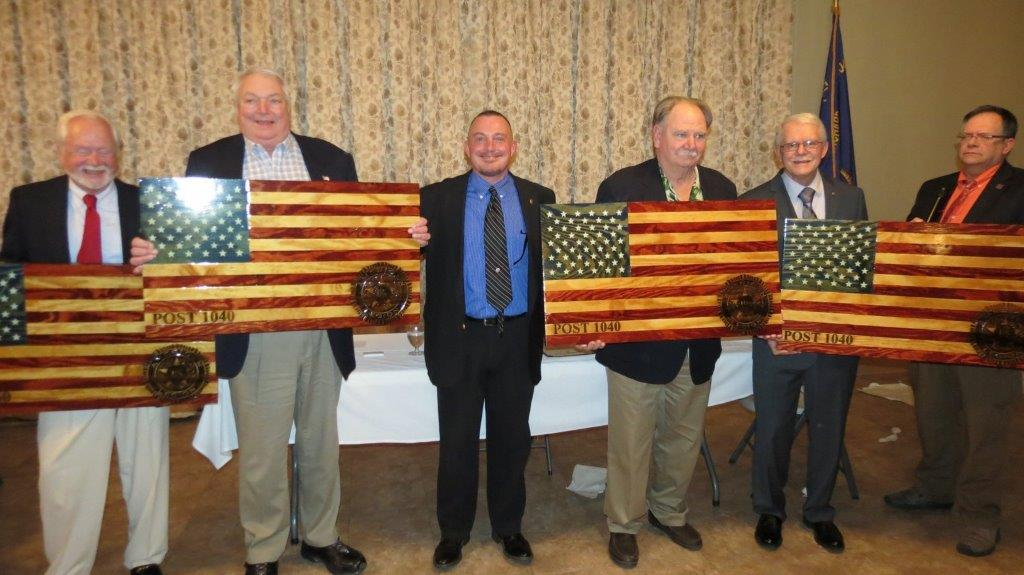 Vets honored at Elsmere Post's annual dinner