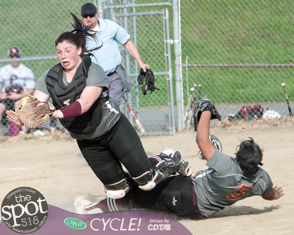 SPOTTED: Colonie girls shut out Shaker; win softball bragging rights