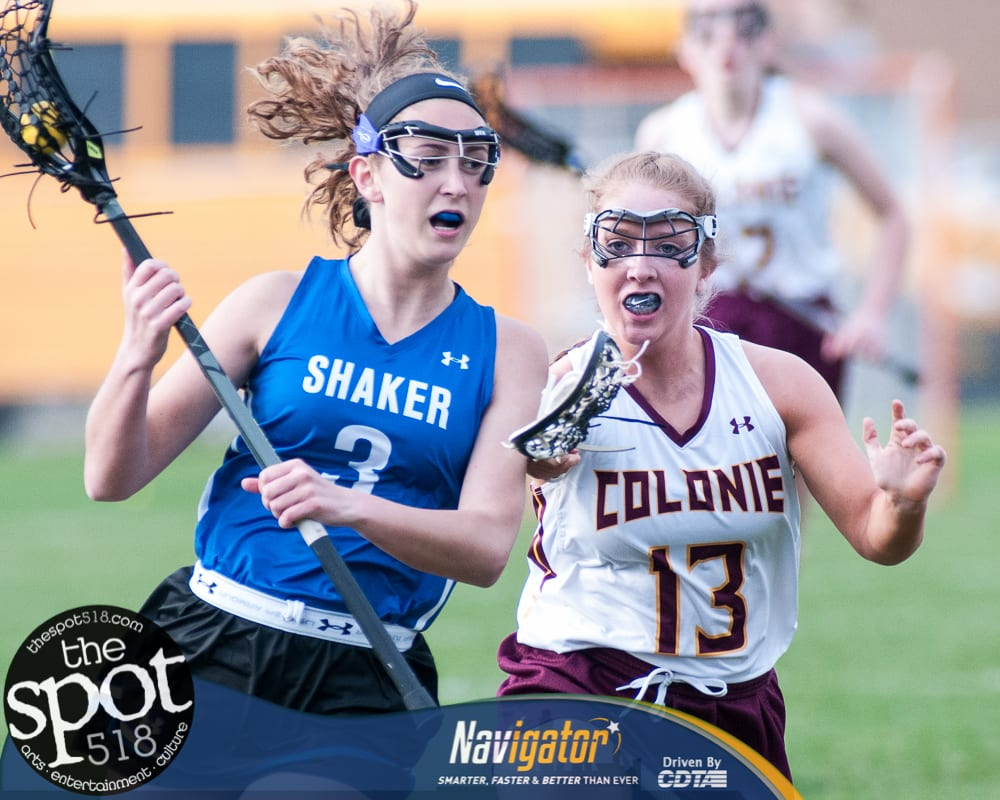 SPOTTED: Shaker girls beat Colonie; win town lax bragging rights