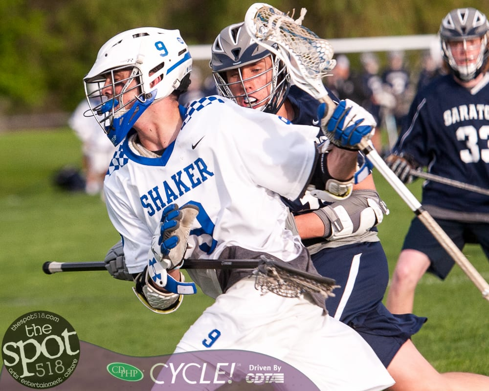 SPOTTED: Shaker boys lax beats Saratoga on Senior Night