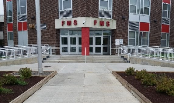 Bear at Farnsworth Middle School causes lockdown