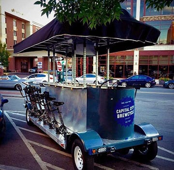 Capital City Cycle Tour to bring 14-person 'Brewcycle' tour to Albany's Warehouse District