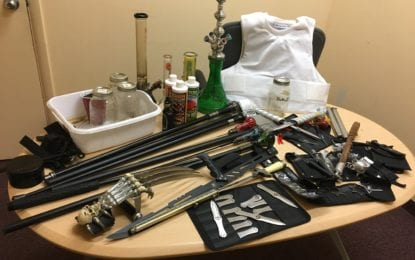 BPD requesting info on Delmar pair arrested for growing weed and possessing a dozen illegal weapons