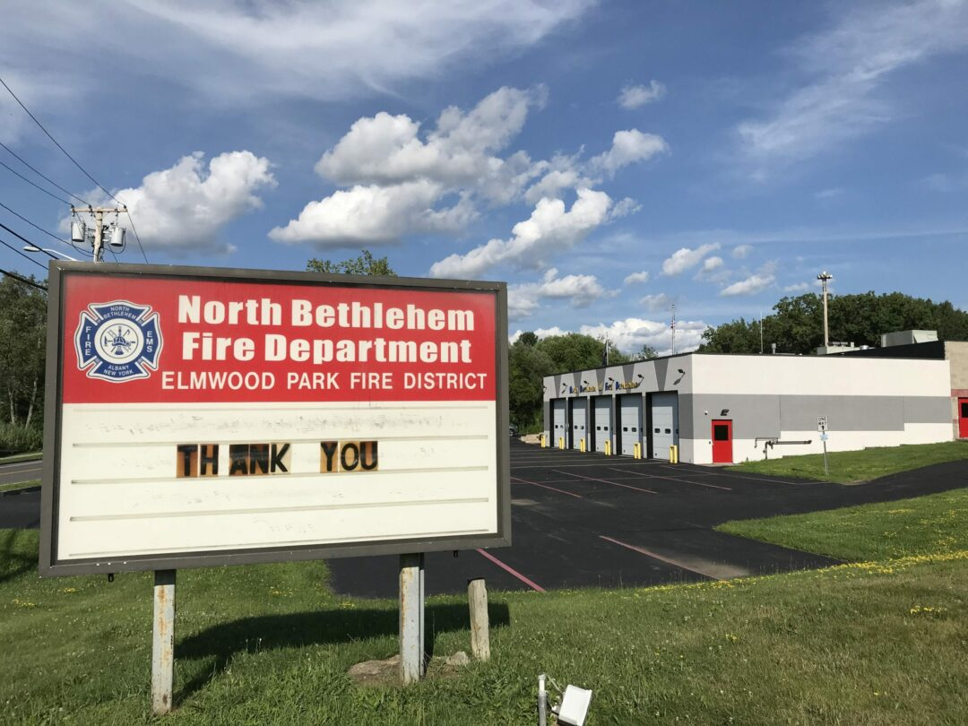 Debate over fire department's proposed electronic board sign rages on