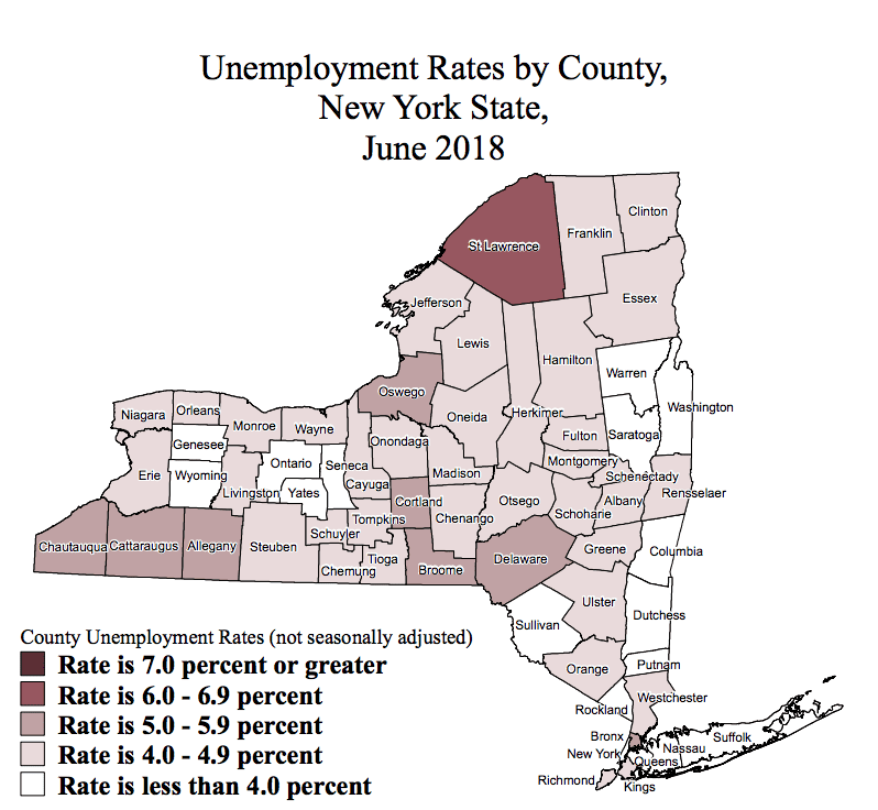 Capital District unemployment drops to 3.9 percent