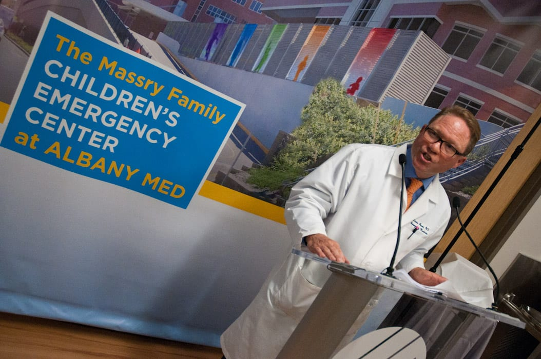 Albany Med opens region's only pediatric emergency department