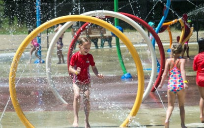 New splash pad opens at Mohawk River Park & Pool in Colonie (w/photo gallery)