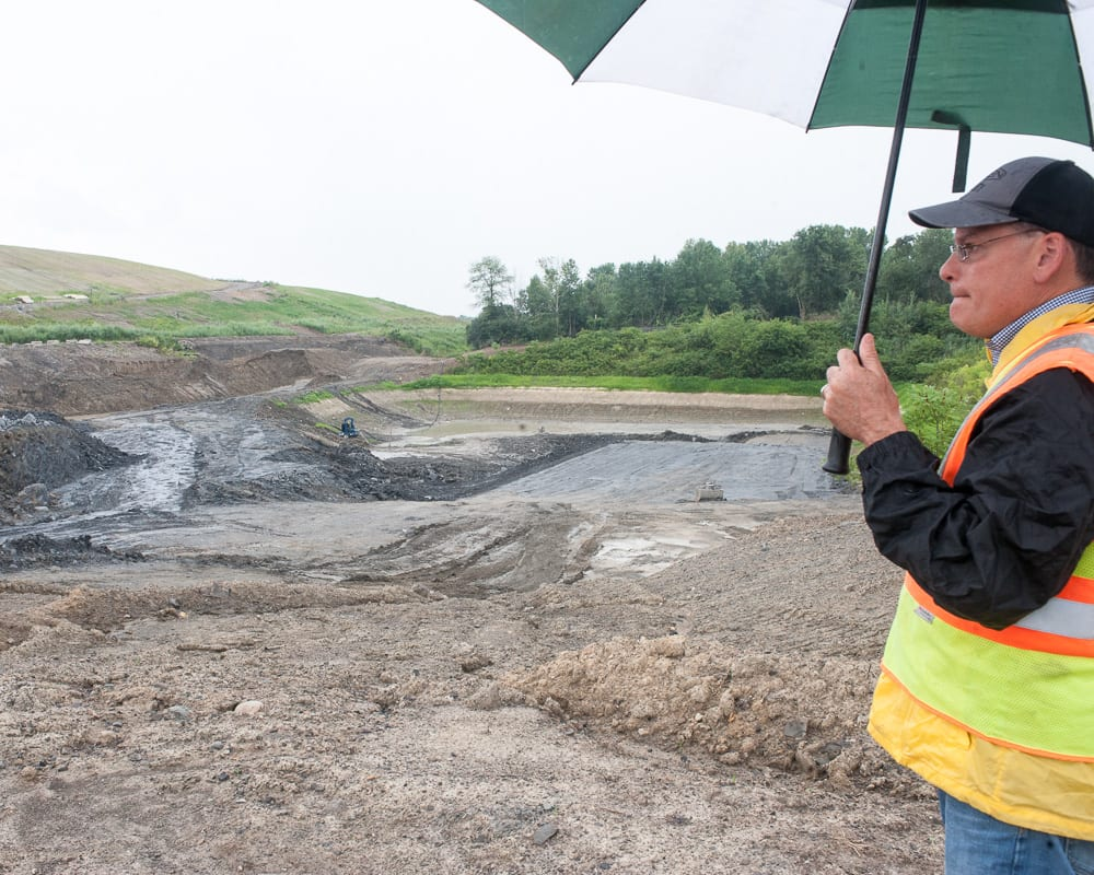 Trash talk: Construction of new Colonie Landfill cell well under way