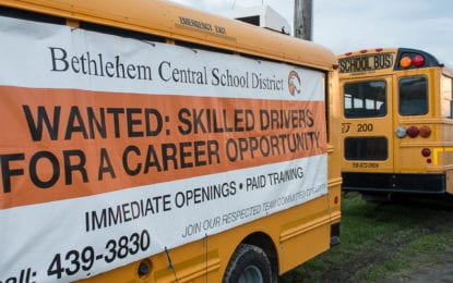 School bus drivers needed in Bethlehem
