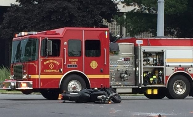 Colonie police investigating fatal motorcycle accident