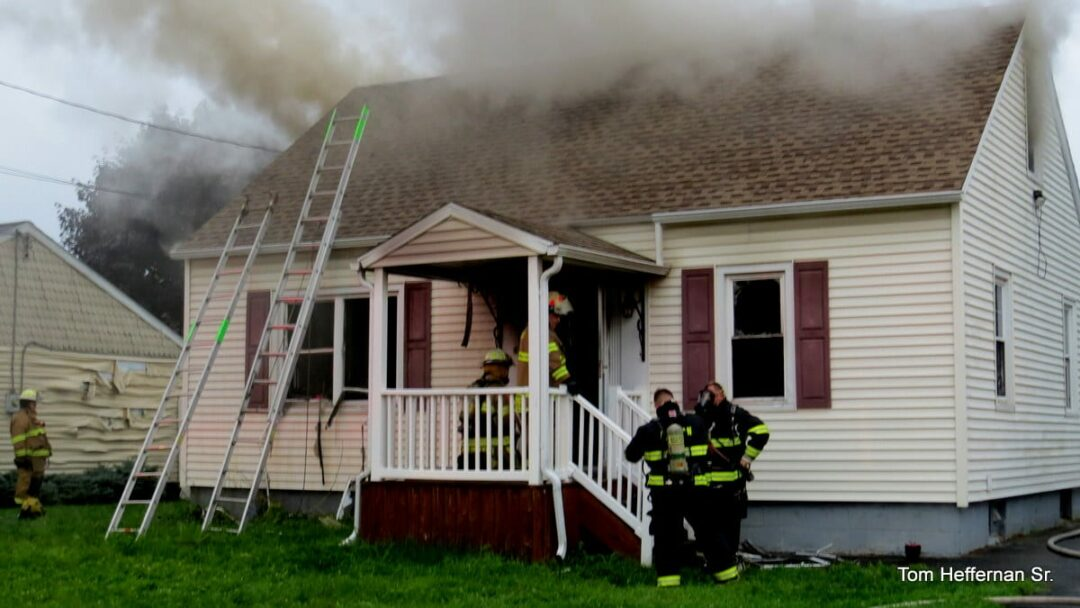 Volunteer firefighter injured after his Colonie home catches fire