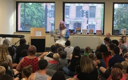 More than 200 attend Drag Queen Story Hour at Albany library