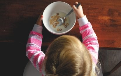 NIGHT and DAY: Farming Man Fest and Cartoon Cereal Bowl