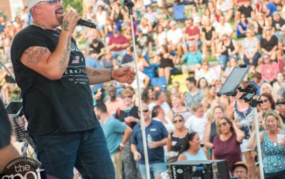SPOTTED: Sydney Worthley and Skeeter Creek at Rockin' on the River