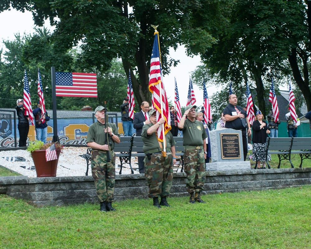 Never forget: Sept. 11 memorial ceremony on the Hill of Heroes at Colonie High School