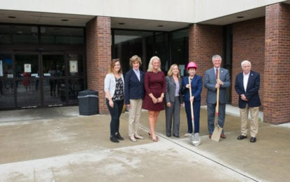 A novel idea: Ground broken on $4 million library renovation project