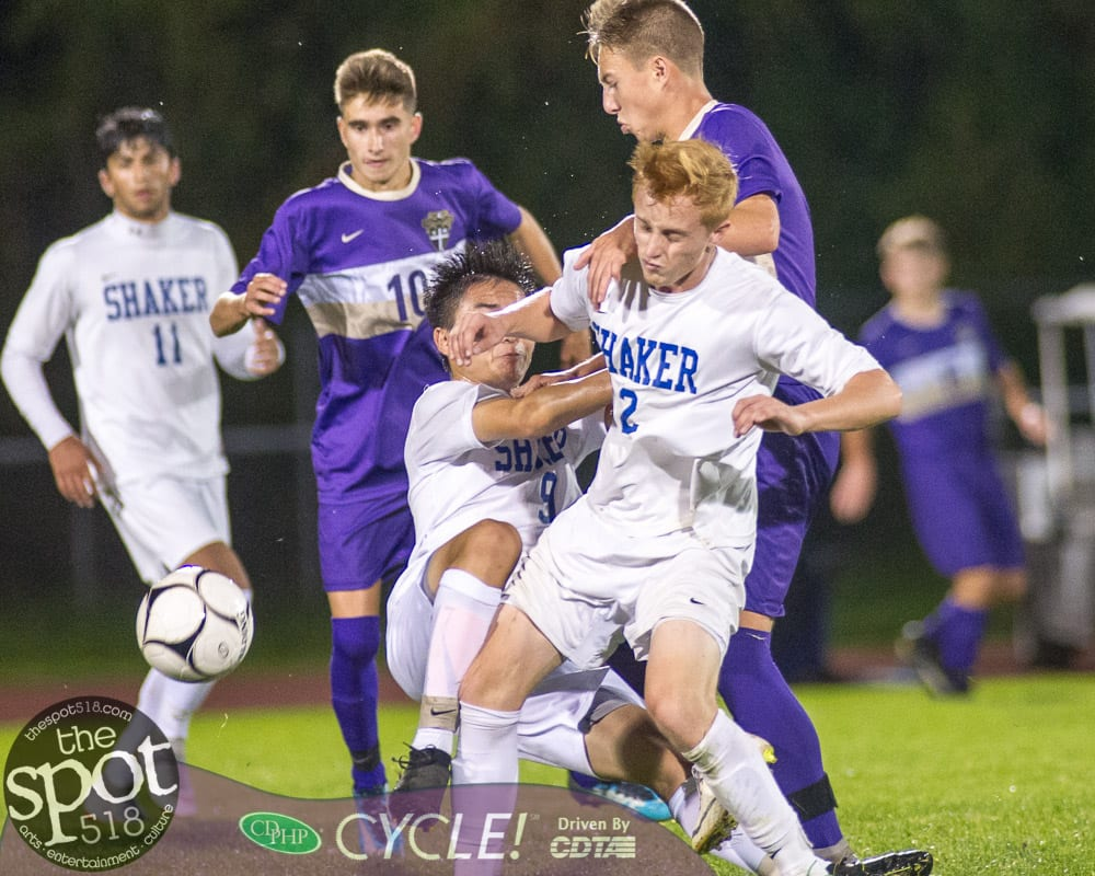 SPOTTED: CBA and Shaker play to a 3-3 tie