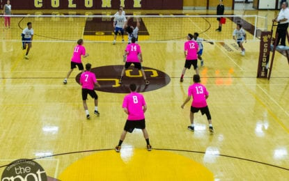 SPOTTED: The Power of Pink volleyball game between Shaker and Colonie