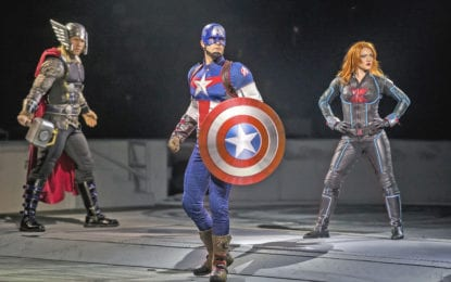 REVIEW: A worthy superhero adventure to 'Marvel' at