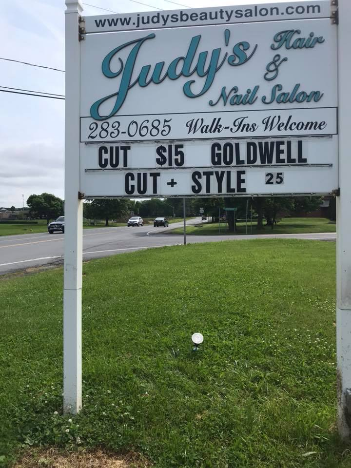 Service is fashionable at Judy's Beauty Salon