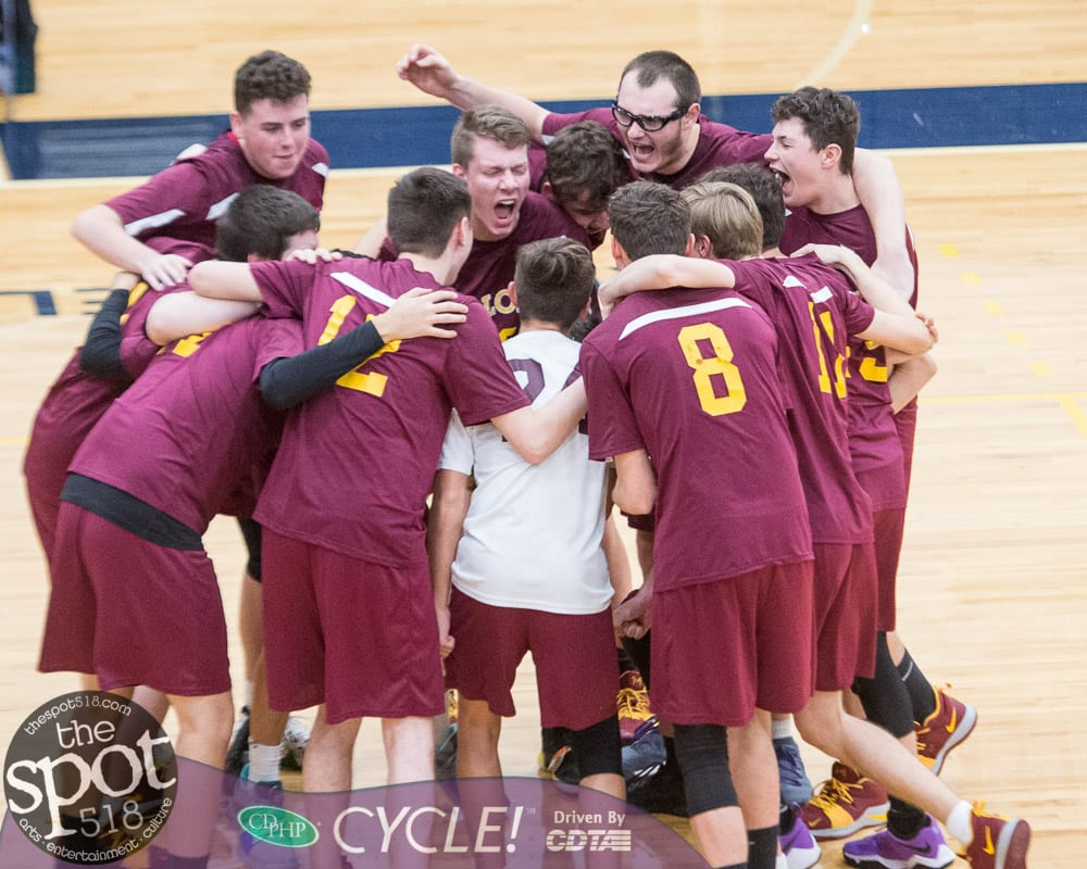 Colonie boys make it to the semis before falling to Shen