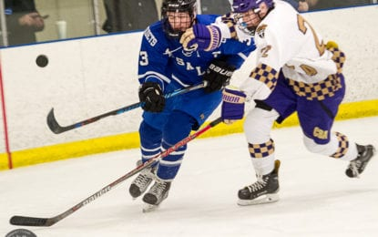 SPOTTED: CBA skaters beat rival LaSalle in conference opener