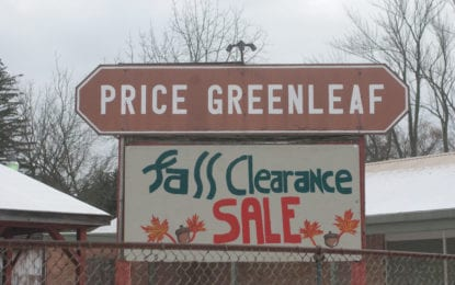 Price-Greenleaf, Inc. closes its doors after 61 years