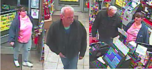 Police seek identity of two larceny investigation suspects