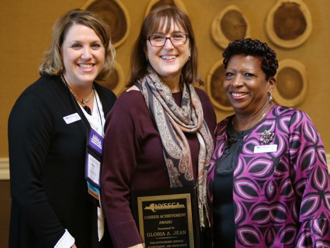 Former BCSD, RCSCD counselor honored