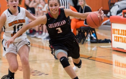 SPOTTED: Guilderland girls hold on to beat Bethlehem by four