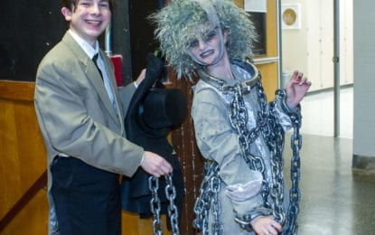 SPOTTED: A dress rehearsal of Colonie High's 'A Christmas Carol'