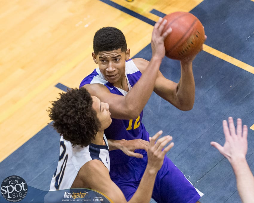 SPOTTED: Voorheesville boys beat Cohoes 51-35