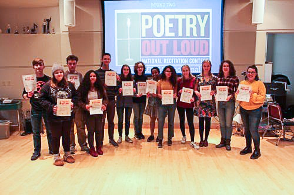Two BCHS students advance to regional poetry competition