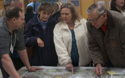 Glenmont roundabout project designs presented at Jan. 17 workshop (w/photo gallery)