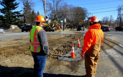 Water main break fixed in Glenmont on Jan. 12