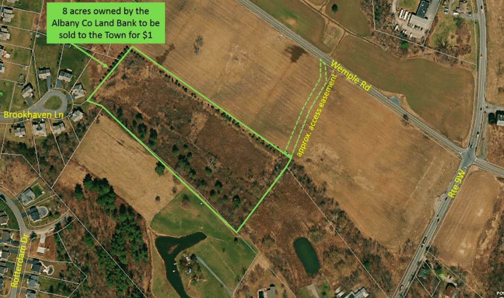 Bethlehem to buy eight acres of land
