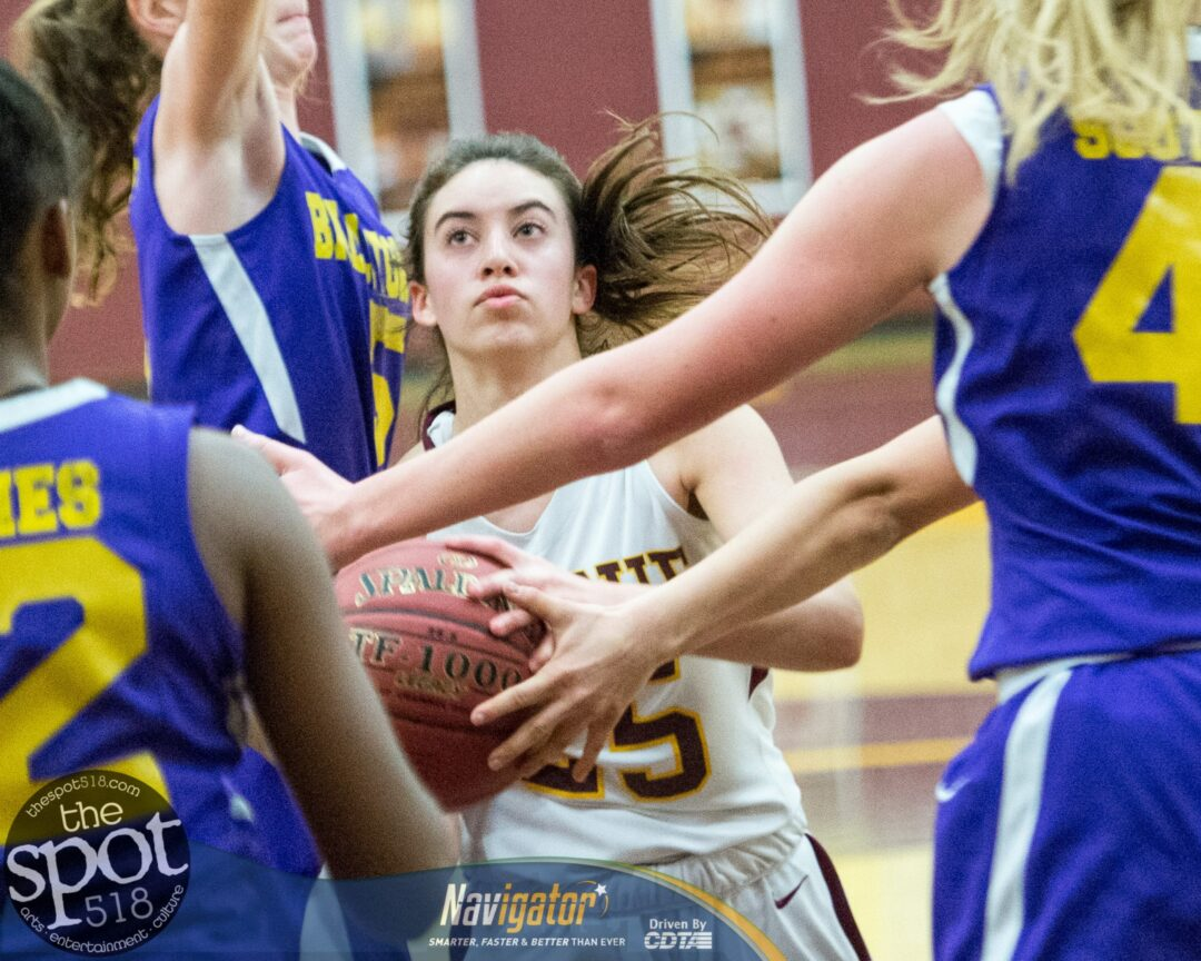 SPOTTED: Colonie girls beat Ballston Spa on Senior Night
