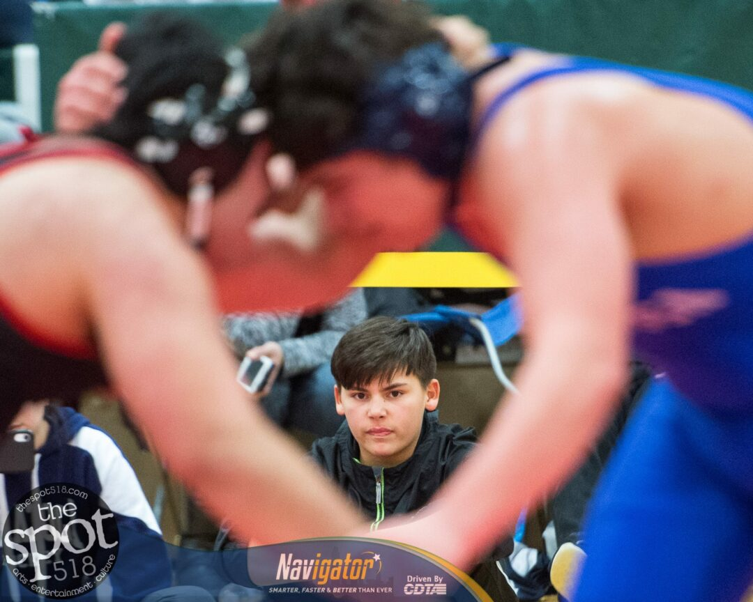 SPOTTED: The Section II, Class A wrestling tournament