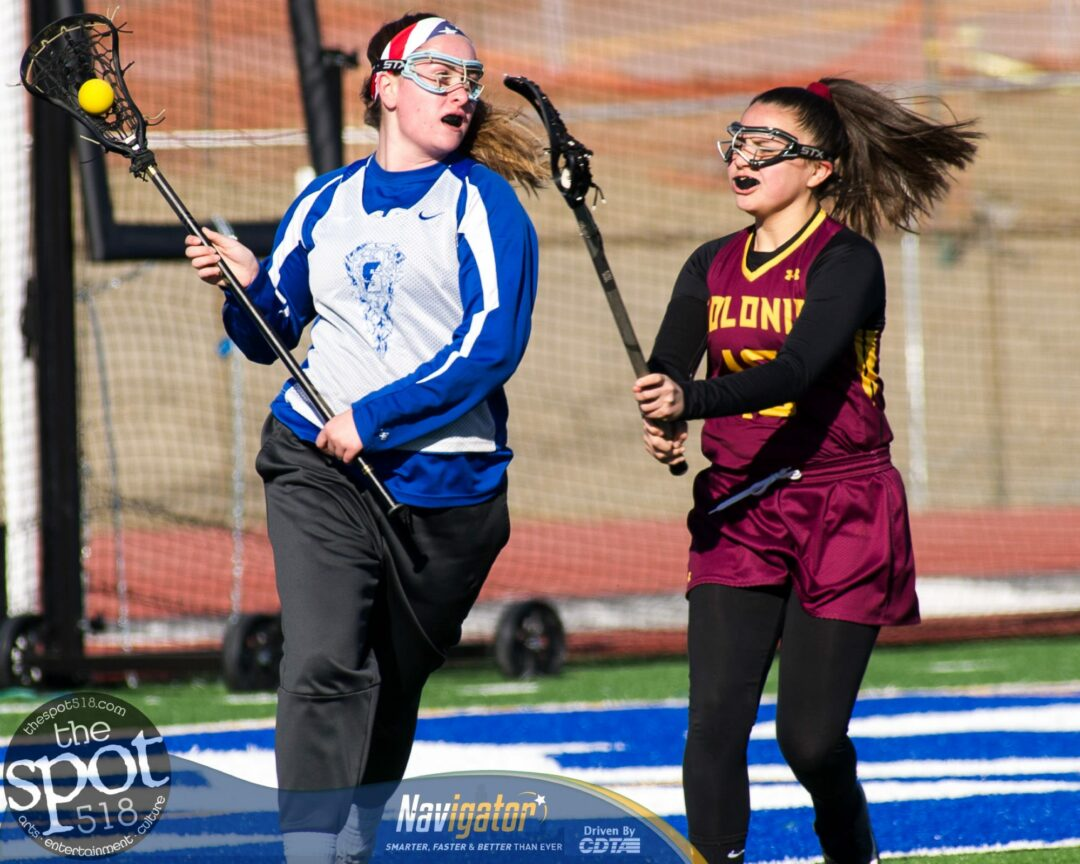 SPOTTED: Shaker v Colonie girls lacrosse preseason scrimmage