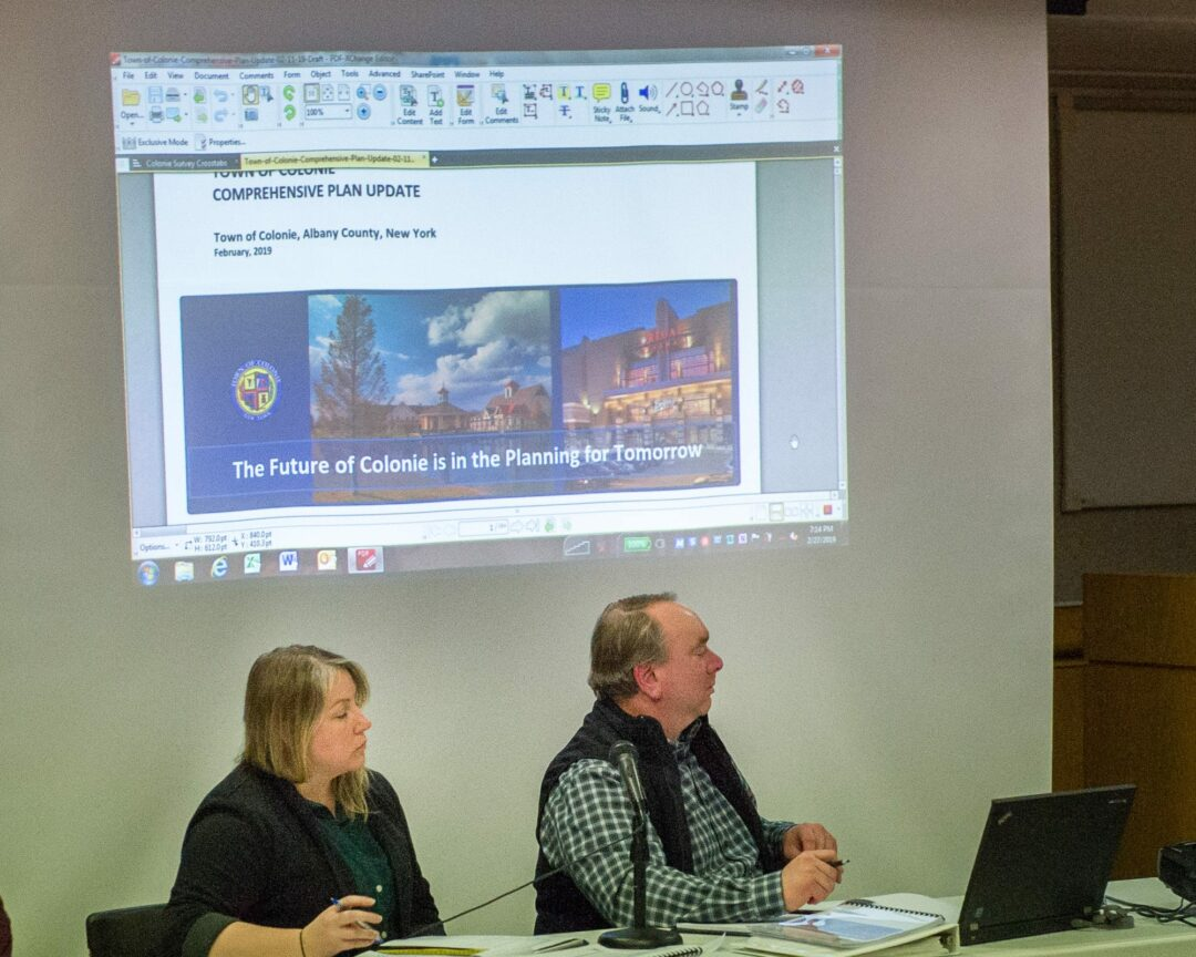 After three years of work, Colonie Town Board gets Comp Plan