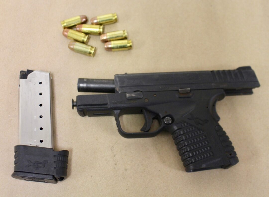 Colonie police arrest two men for possessing a loaded handgun