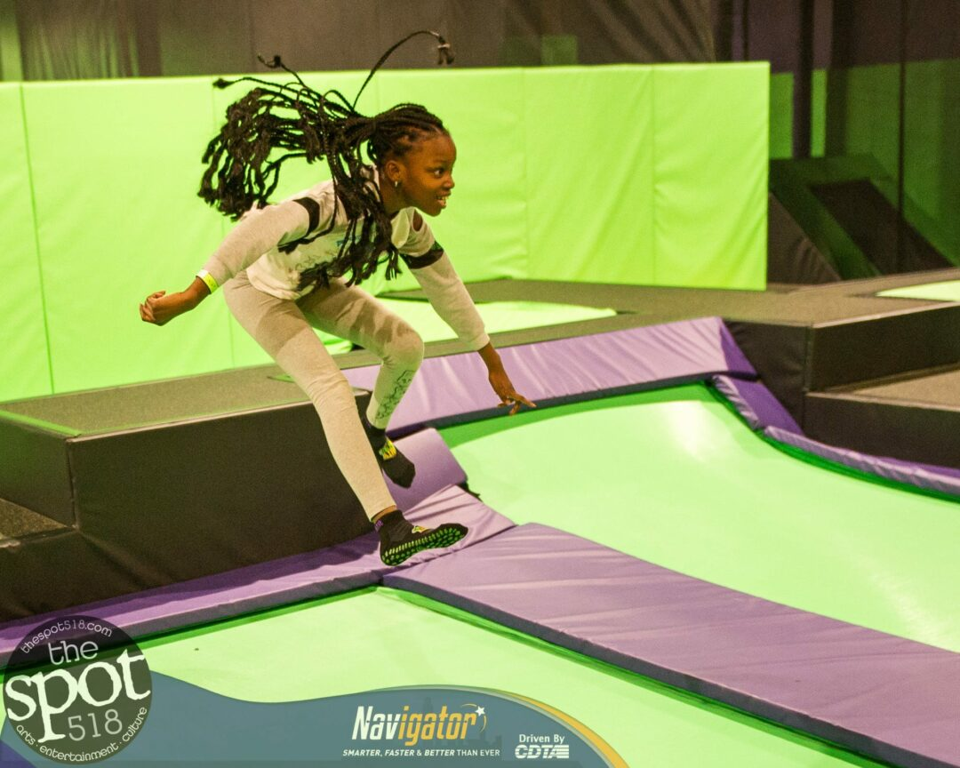 SPOTTED: Get Air Trampoline Park holds official grand opening